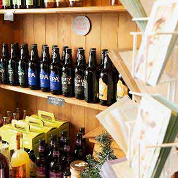 mill shop local beers, wine and gift packs