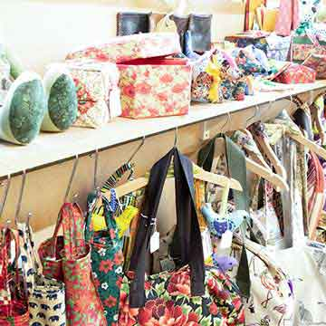 boat house fabric gifts and home ware