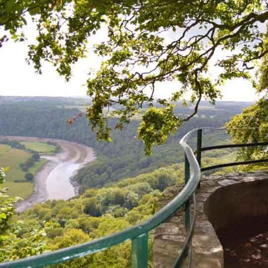 the wye valley walk through Tintern, Monmouth and Chepstow