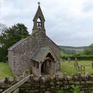 Penterry chapel on wye valley circular walks
