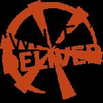 wheel deliver wheel shaped red logo
