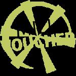 Mill voucher wheel logo in Wye Valley green