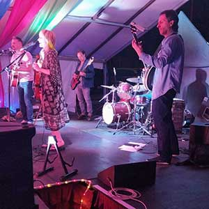 Dark Valley Revival at Abbey Mill's first music festival since lockdown