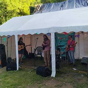 Hey St Matthew at Abbey Mill's first music festival since lockdown