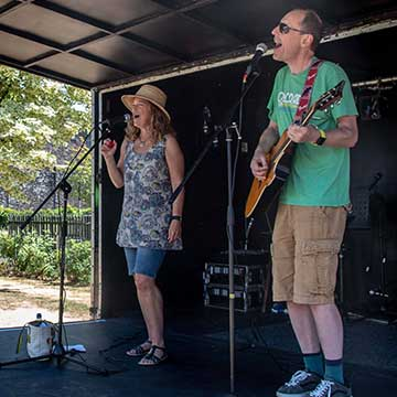 skylark duo, talented musicians and performance